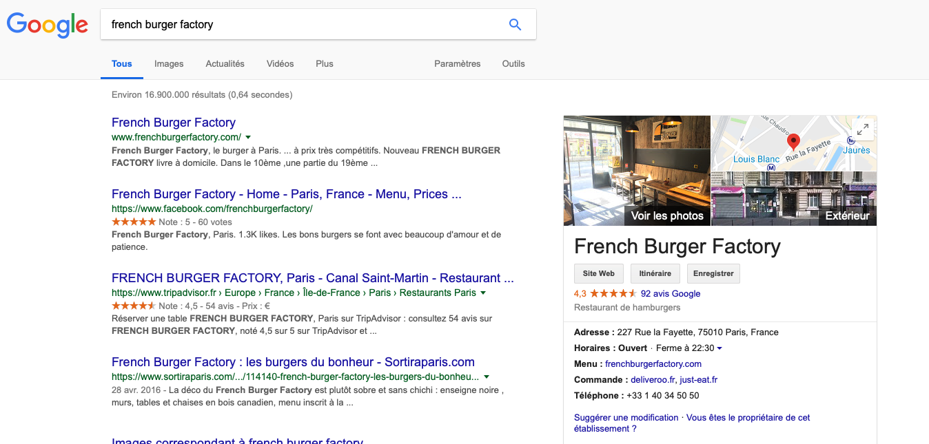 Faire Connaitre Son Restaurant Sur Internet My Google Business